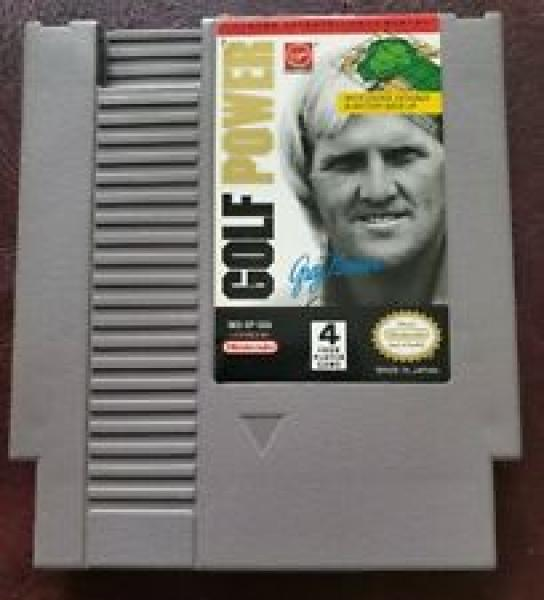 NES Greg Norman's Golf Power