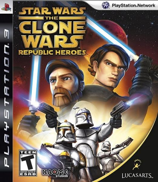 PS3 Star Wars - the Clone Wars Republic Heroes