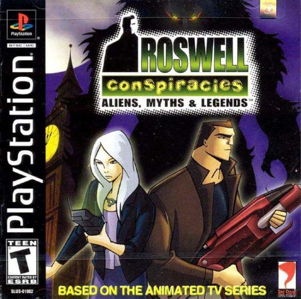 PS1 Roswell Conspiracies - Aliens, Myths, & Legends