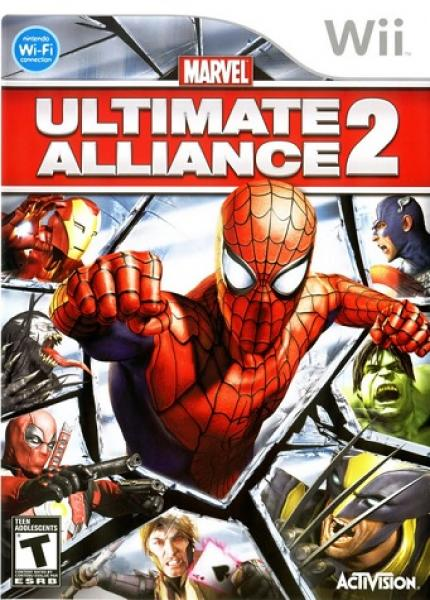 Wii Marvel Ultimate Alliance 2