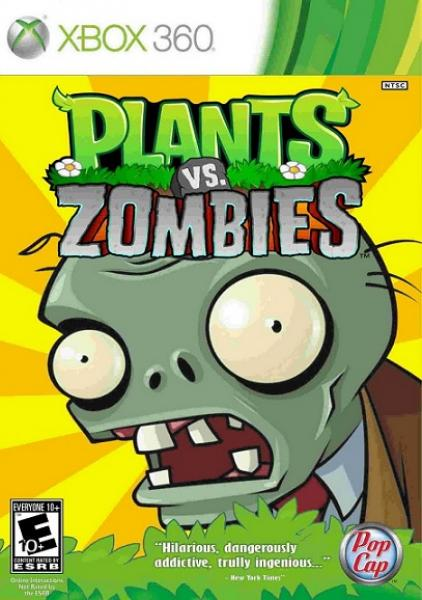 X360 Plants vs Zombies