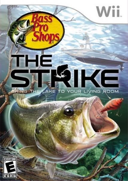 Wii Bass Pro Shops - the Strike - game only