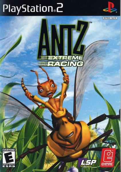 PS2 Antz Extreme Racing