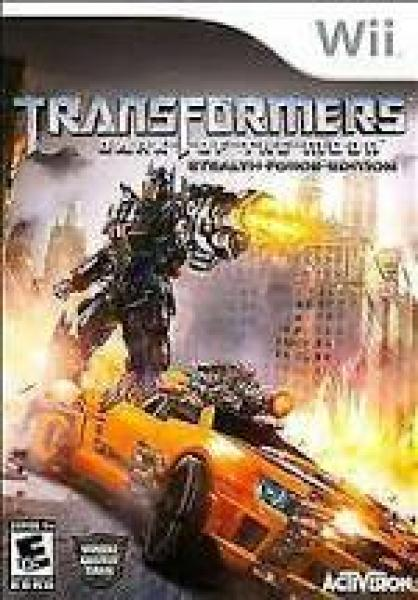 Wii Transformers - Dark of the Moon - Stealth Force Edition