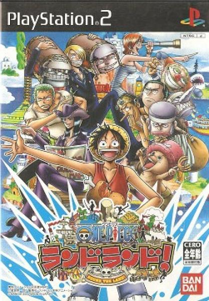 PS2 One Piece - Round the Land - IMPORT