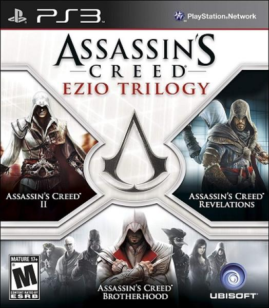 PS3 Assassins Creed - Ezio Trilogy