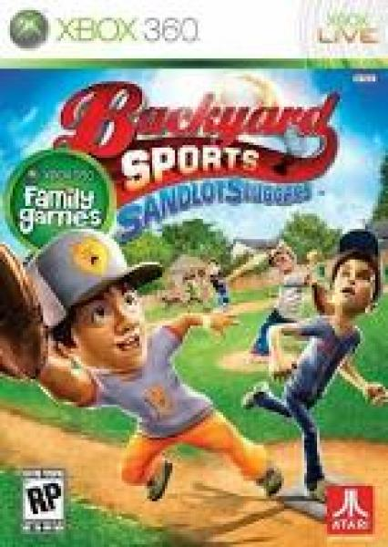 X360 Backyard Sports - Sandlot Sluggers