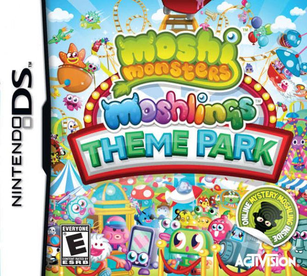 NDS Moshi Monsters - Moshlings Theme Park