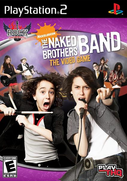 PS2 Naked Brothers Band - The Video Game