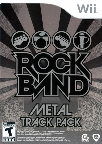 Wii Rock Band - Metal Track Pack