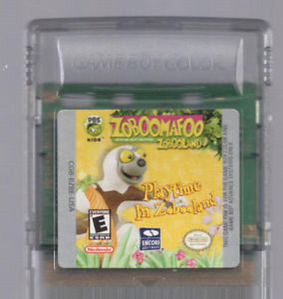 GBC Zoboomafoo Zobooland - Playtime In Zobooland