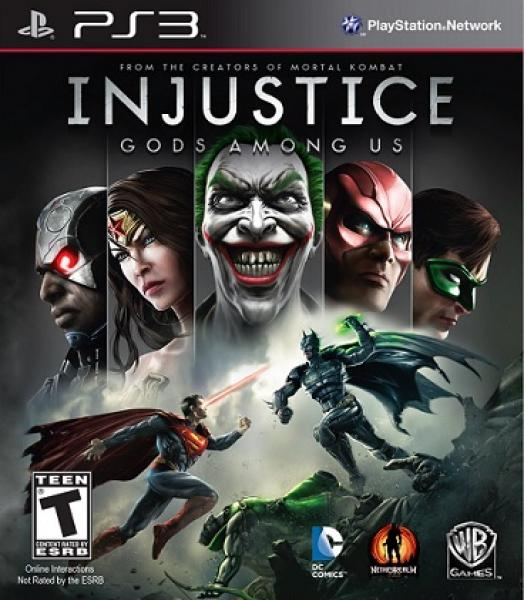PS3 Injustice - Gods Among Us