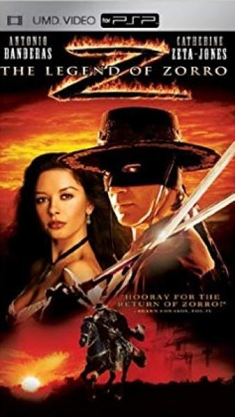 PSP UMD Movie - Legends of Zorro
