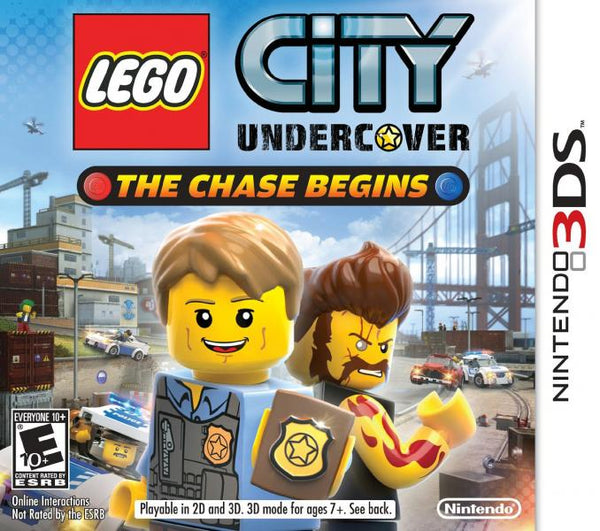 3DS Lego - City Undercover - The Chase Begins