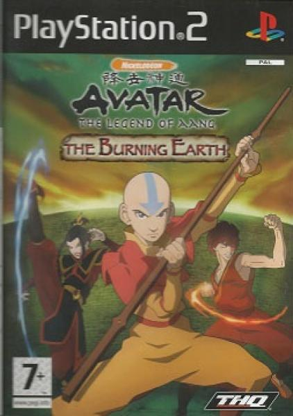 PS2 Avatar - The Burning Earth - IMPORT - PAL