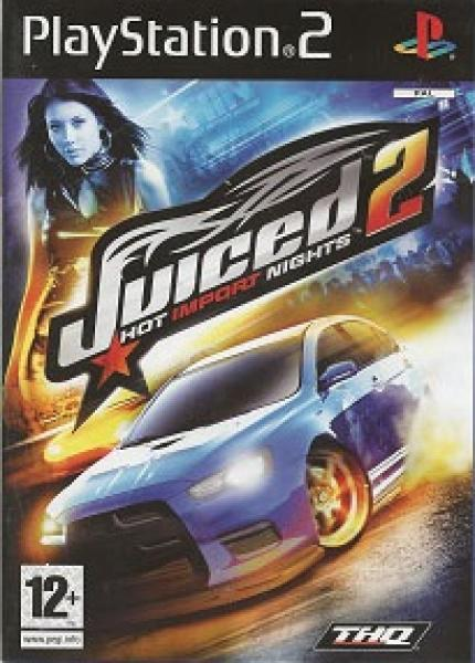 PS2 Juiced 2 - Hot Import Nights - IMPORT - PAL