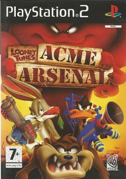 PS2 Acme Arsenal - Looney Tunes - IMPORT - PAL