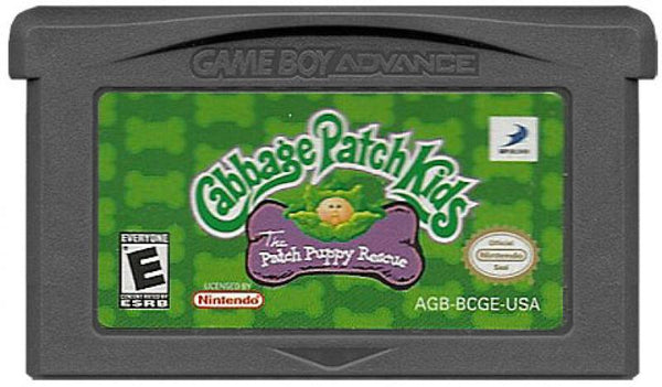GBA Cabbage Patch Kids - Patch Puppy Rescue