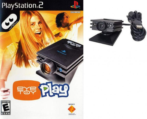 PS2 Eye Toy - Play - Game and Camera