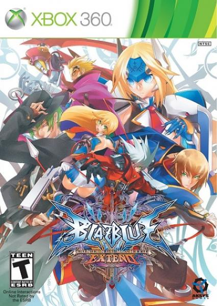 X360 Blazblue - Continuum Shift - Extend
