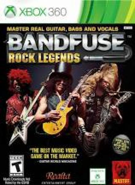 X360 Bandfuse - Rock Legends - Game Only