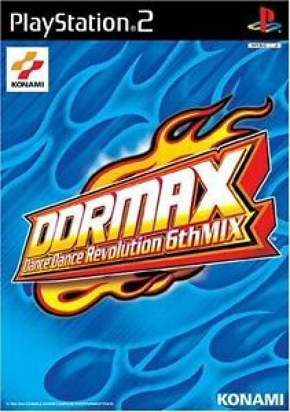 PS2 Dance Dance Revolution DDR - 6th Mix - IMPORT