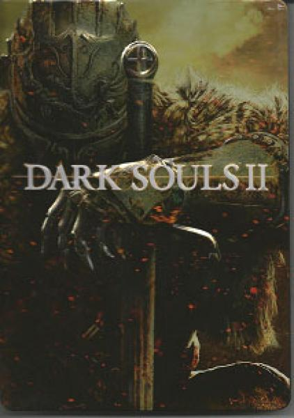 X360 Dark Souls II 2 - Black Armor Edition - Game, Steel Case and Soundtrack - MAY OR MAY NOT HAVE DLC - USED