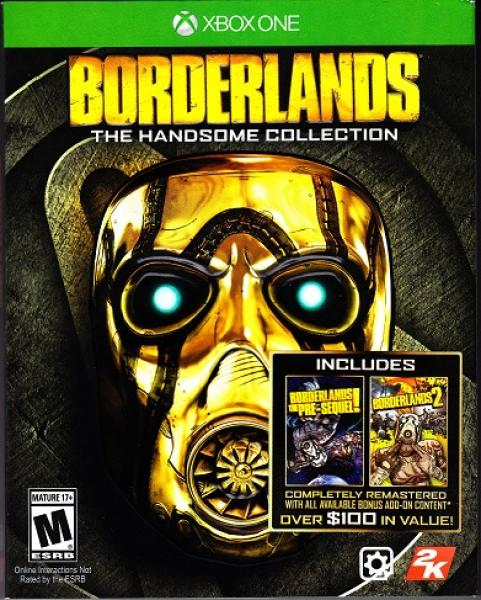 XB1 Borderlands - The Handsome Collection - DLC MAY NOT BE INCLUDED