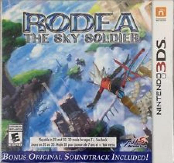 3DS Rodea - the Sky Soldier