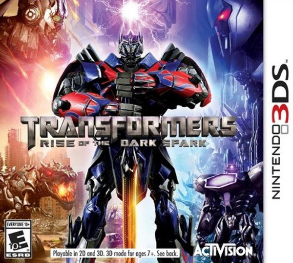 3DS Transformers - Rise of the Dark Spark