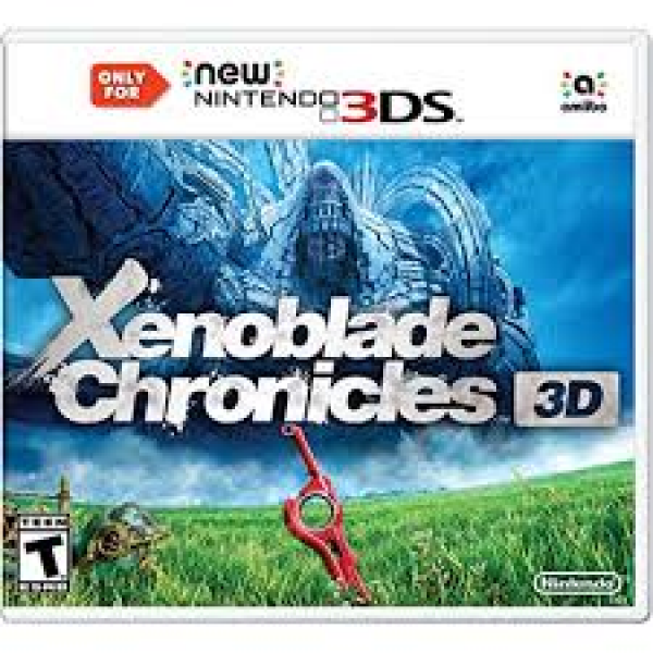 3DS Xenoblade Chronicles - works on N3DS consoles ONLY