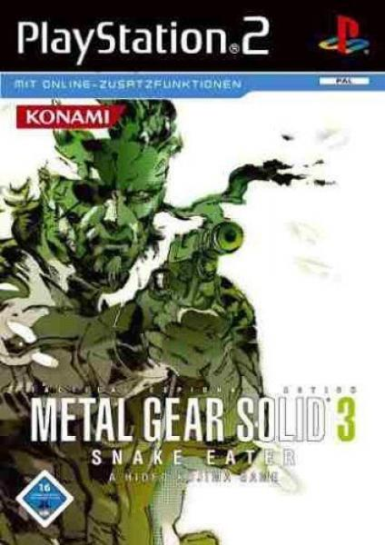 PS2 Metal Gear Solid 3 - Snake Eater - IMPORT