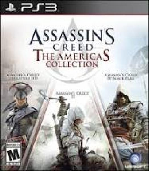 PS3 Assasins Creed - Americas Collection