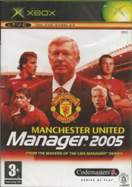 XBOX Manchester United Manager 2005 - IMPORT - PAL
