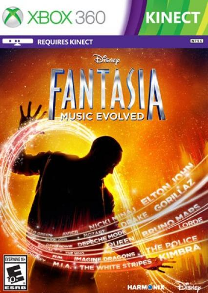 X360 Fantasia Music Evolved