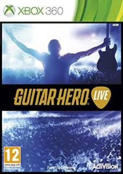 X360 Guitar Hero Live - Game Only