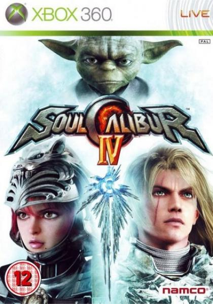 X360 Soul Calibur IV 4 - PAL - IMPORT