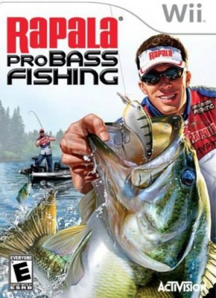 Wii Rapala Pro Bass Fishing - Game only