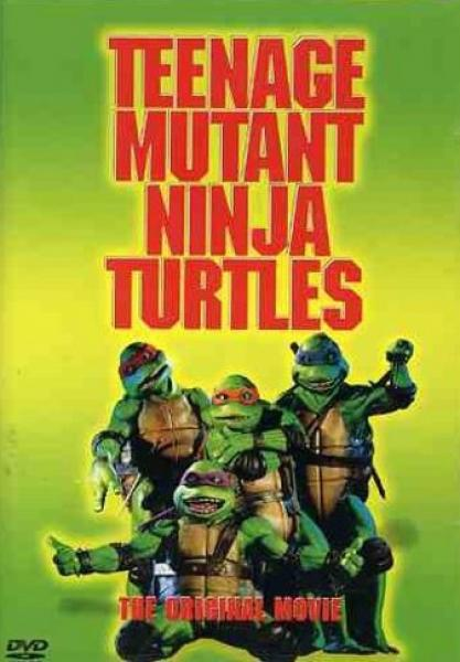 DVD - TMNT - The Movie