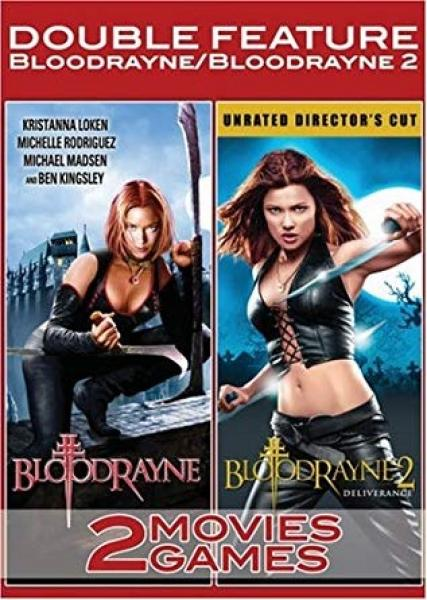 DVD - Bloodrayne 1 & 2 Double Pack