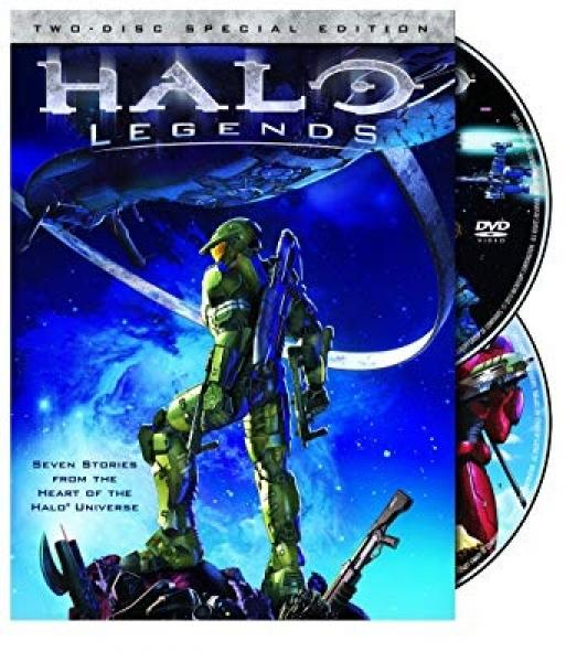 DVD - Halo - Legends - Special Edition 2 Disc