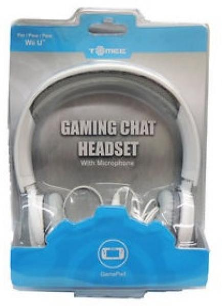 WiiU - Gaming Headset (3rd) - NEW - Tomee