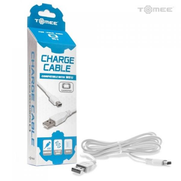 WiiU - Game Pad Charge Cable (3rd) - NEW - Tomee