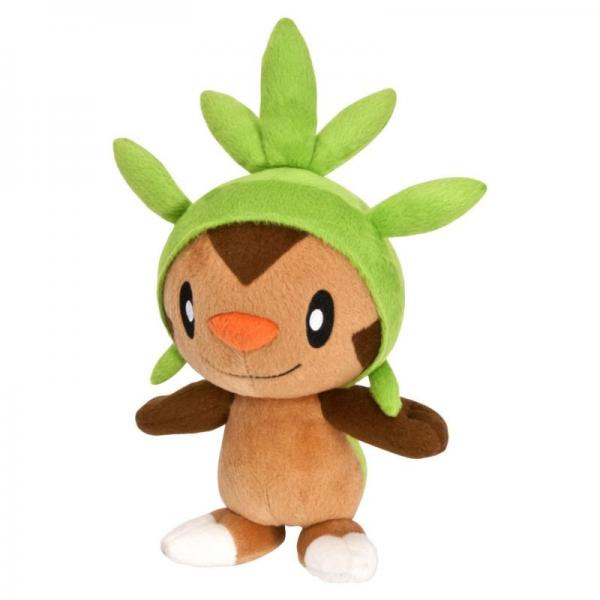 Plush - Nintendo - Pokemon - XY - Chespin - 8 in