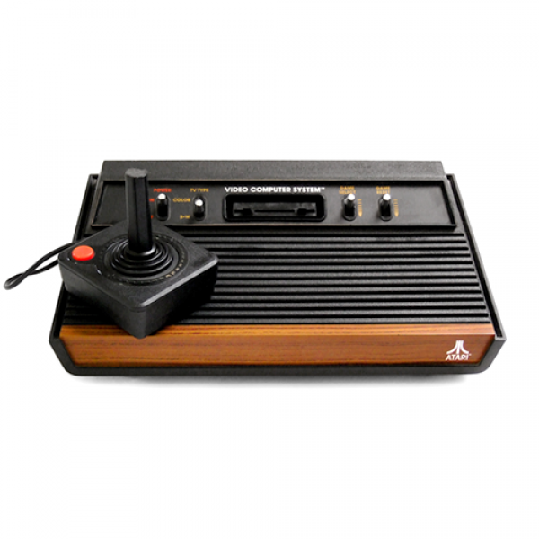 A26 Atari 2600 system 4 switch HW - WOOD