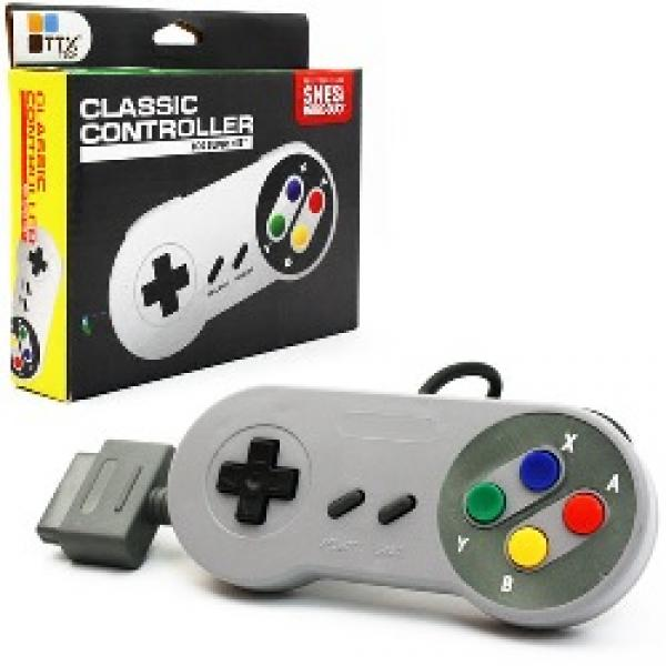 SNES controller (3rd) NEW - TTX Tech Super Famicom style