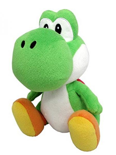 Plush - Nintendo - Super Mario - Yoshi - Green - sitting - 9 in