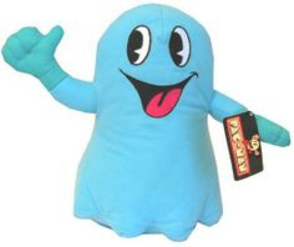 Plush - Pac Man - Ghost - Blue - 8in