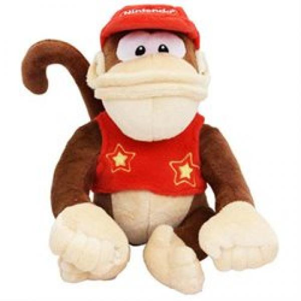 Plush - Nintendo - Donkey Kong - Diddy Kong - 6 in - 2012