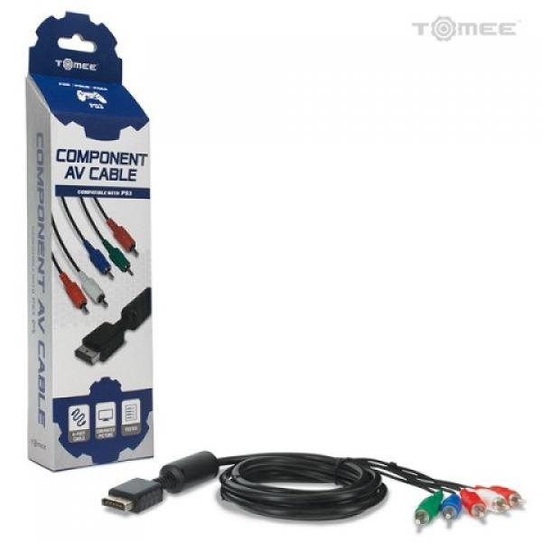 PS1 - PS2 - PS3 - AV HD Component Cables (3rd) - NEW - Tomee - Hyperkin
